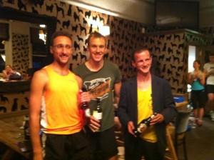 Ed Catmur, Jonathan Albon & Harold Wyber - Top 3 in Park Race Series 2013