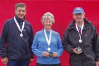 2007 BOC Relays - Tom Edelsten, Carol Pearce,  John Pearce n 2nd M/W60